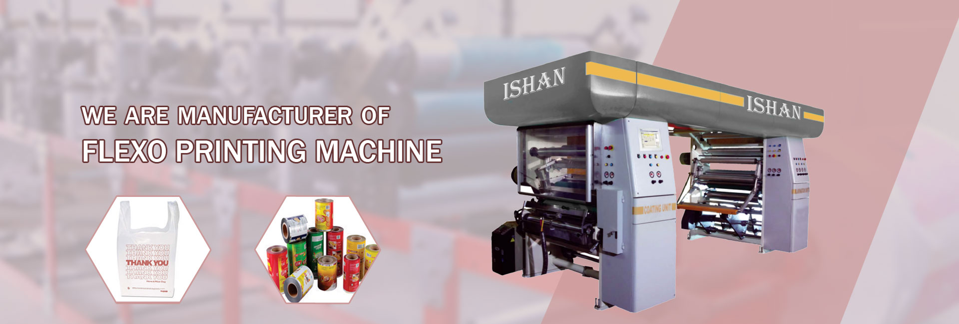 Flexo Printing Machine CDC Type