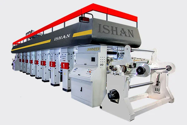 Rotogravure Printing Machine, manufacturer of Motorized Rotogravure Machine